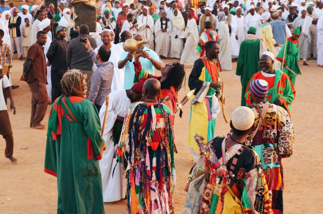 Sufi ceremony in Omdurman