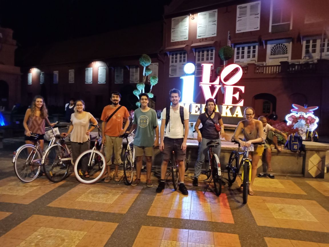 Bike tour in Melaka Best Hostels for Solo Travelers in Asia