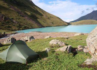 Camping Nordisk Telemark 1 ULW in Tajikistan. Best Backpacker Tent