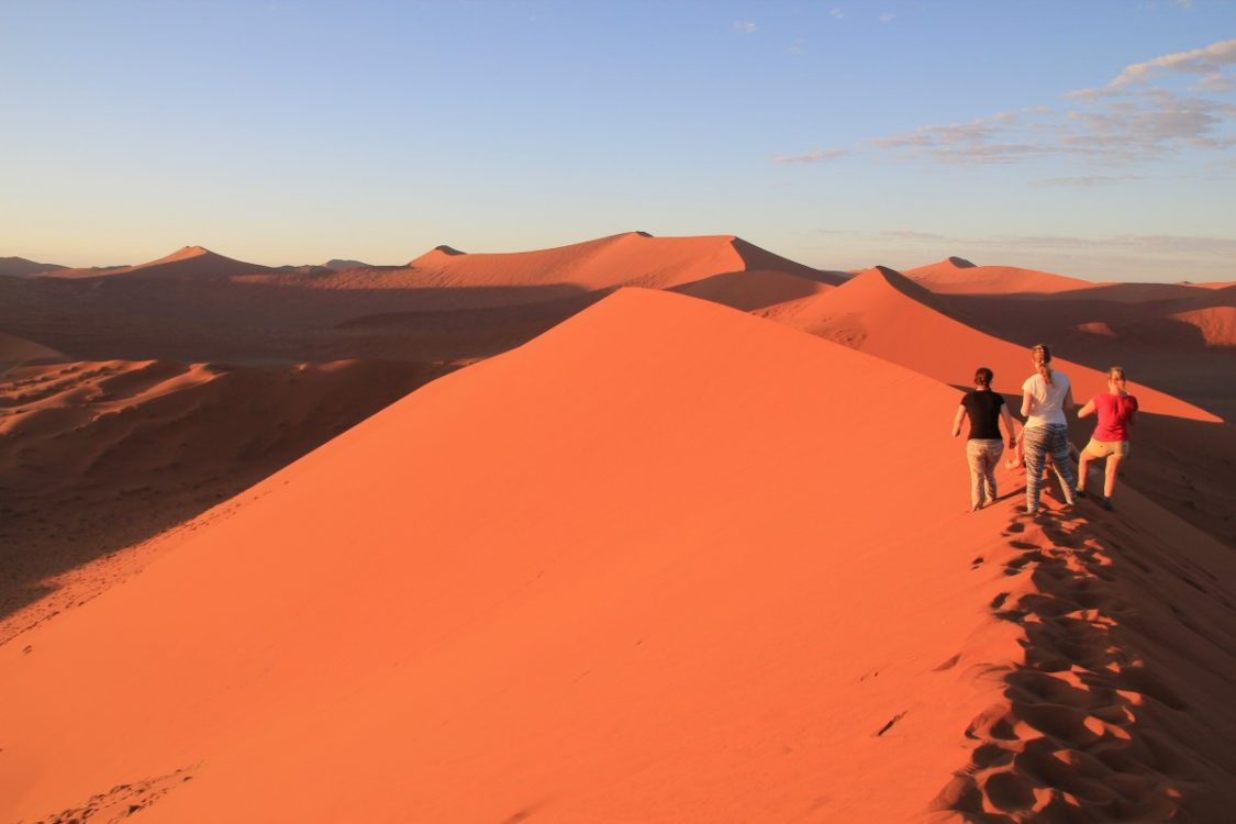Dunes. Nomad Tours Africa - Best of Namibia review