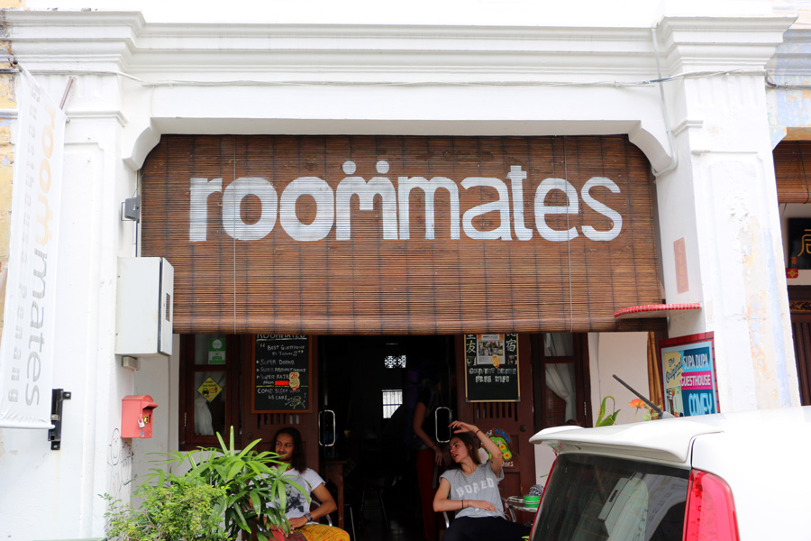 Best Hostels for Solo Travelers in Asia. Roommates-hostel-George-Town