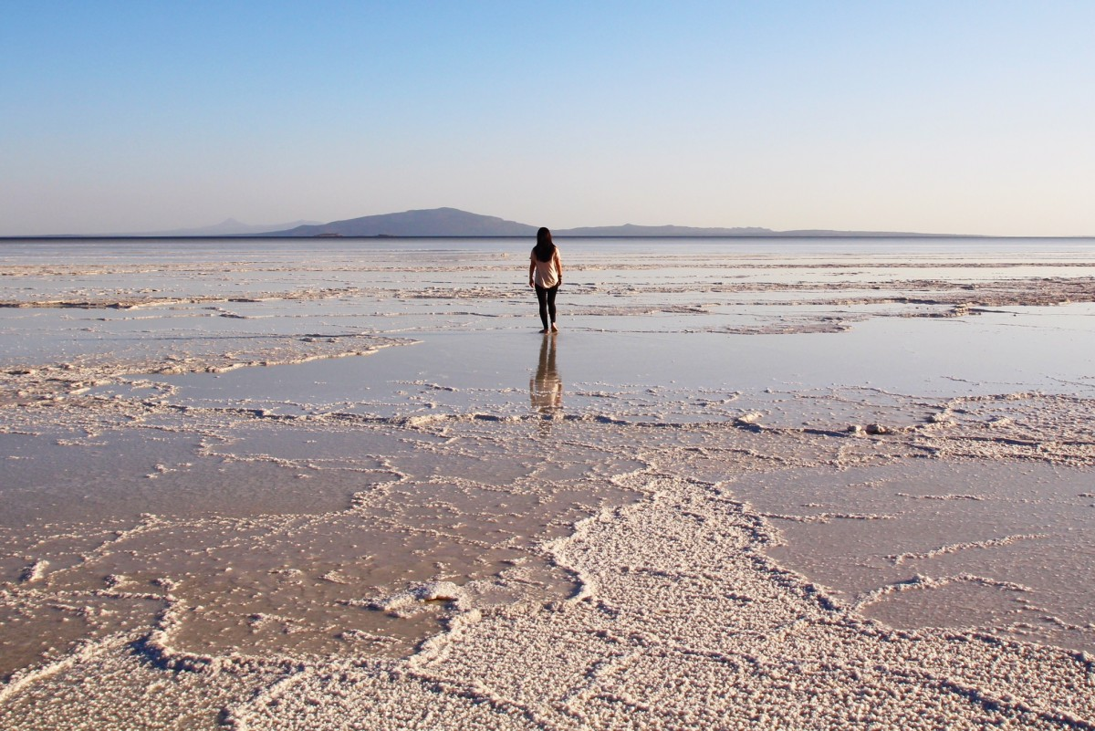 Salt planes. Backpacking Ethiopia. Copyright Bunch of Backpackers.