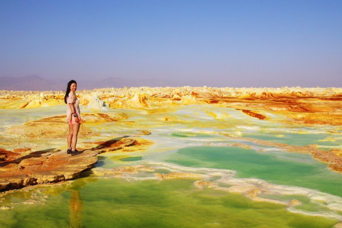 Danakil Depression in Ethiopia. Copyright Bunch of Backpackers.