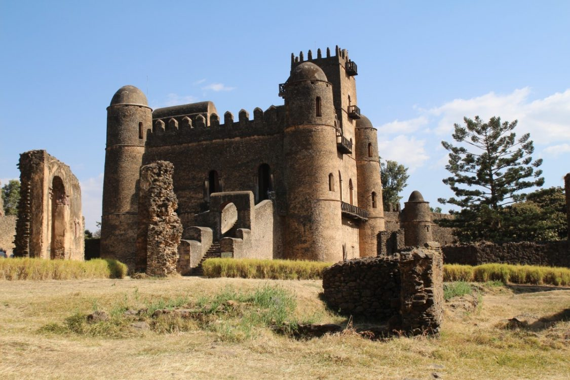 The medieval castle of Gonder. - Costs to travel in Ethiopia. Copyright Bunch of Backpackers.