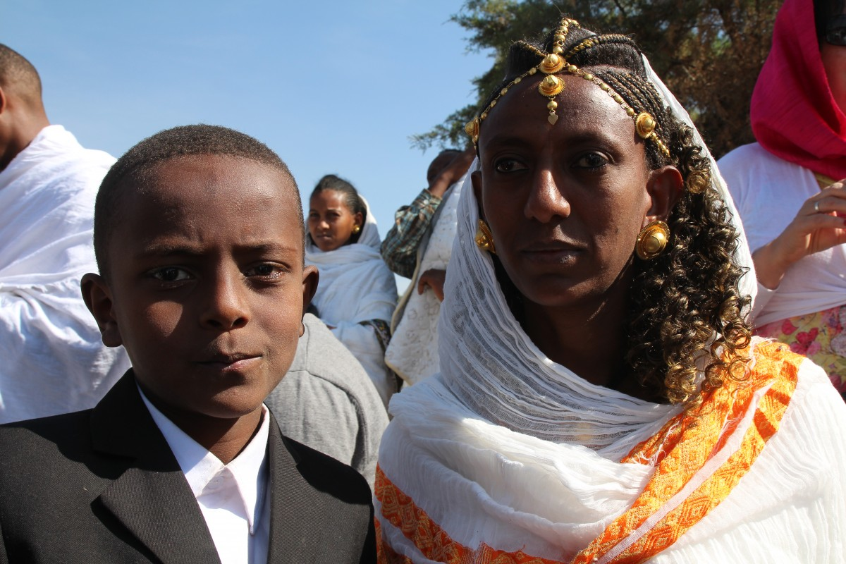 Timkat festival Ethiopia. Copyright Bunch of Backpackers.