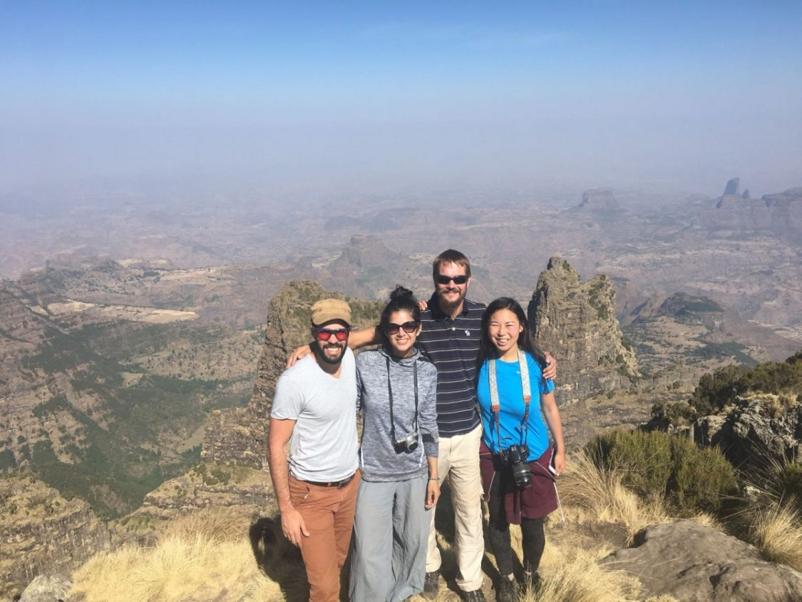 Backpacking in Ethiopia. Copyright Bunch of Backpackers.