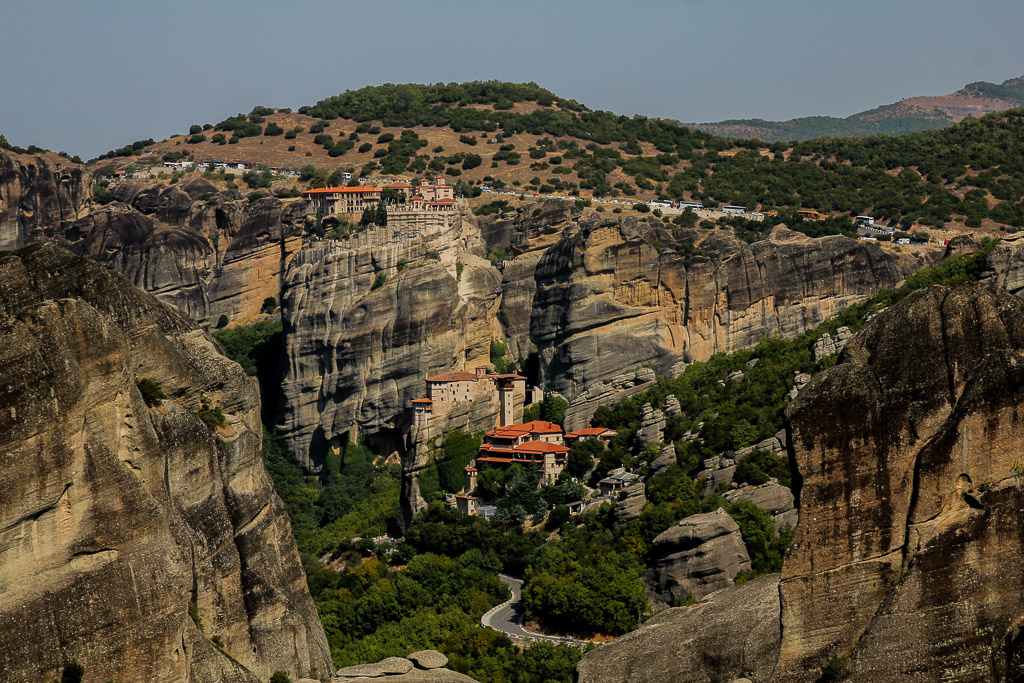 Do it yourself trip to Meteora Monasteries