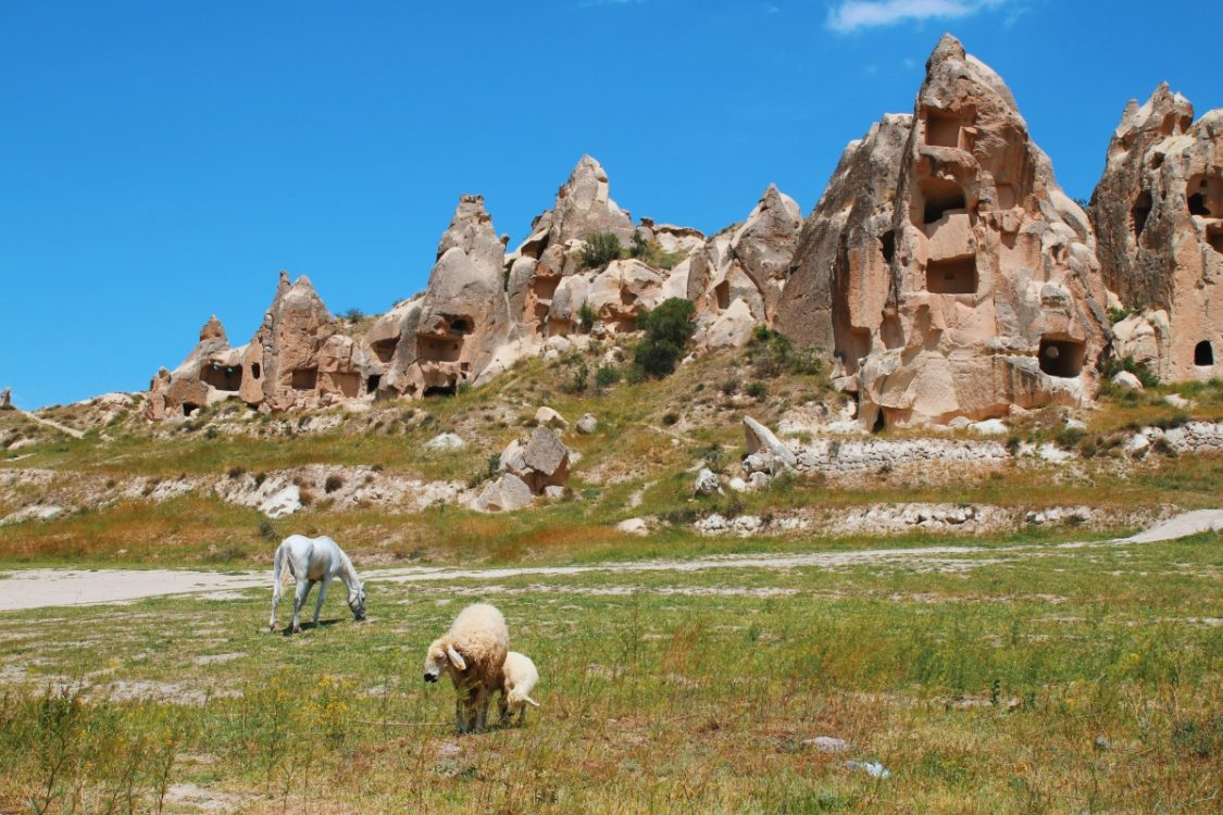 Goreme and Cappadocia. Backpacking Turkey.