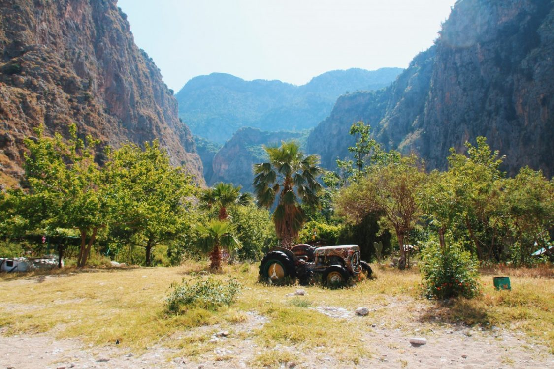Camping Butterfly Valley, Turkey