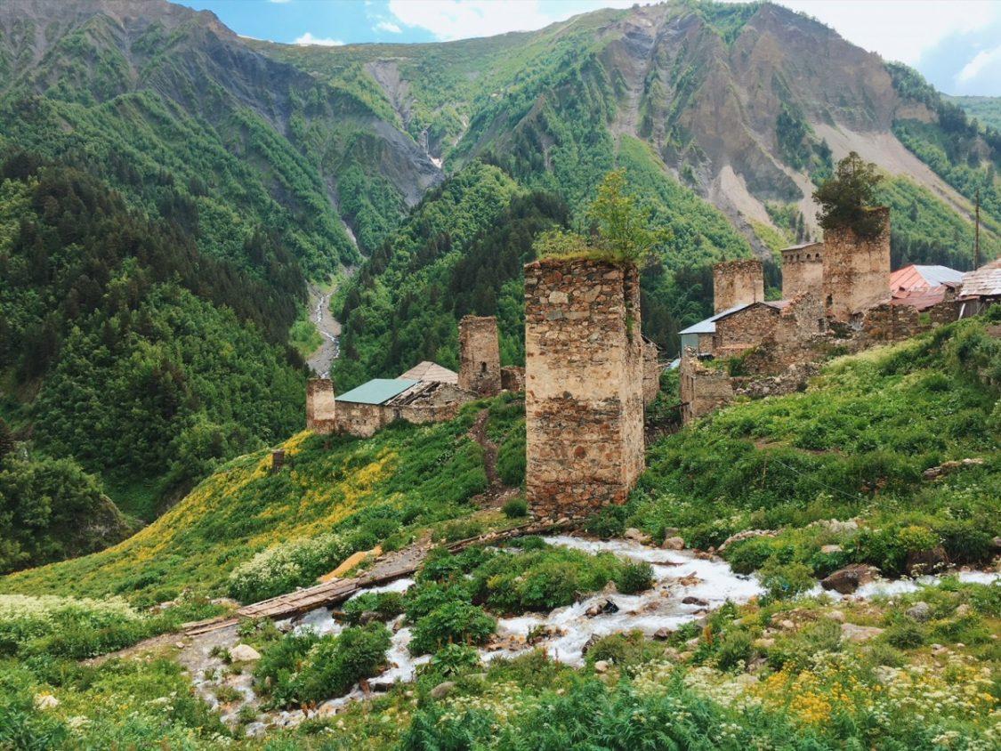 Hiking Svaneti Mestia