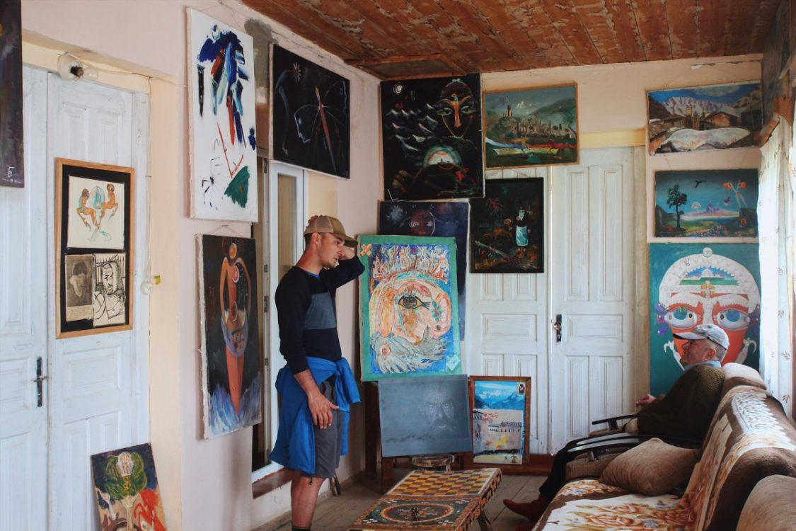 Famous Svaneti painter!