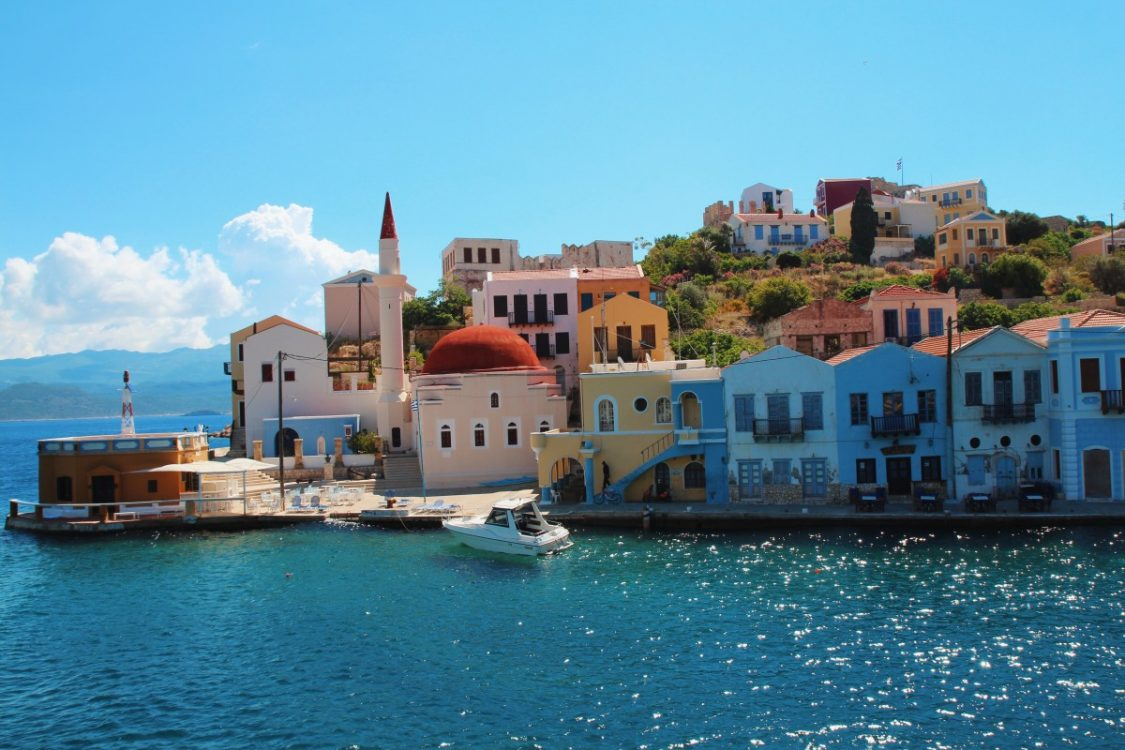 The Greek city of Meis is only a 25-minute ferry ride away from Kas.