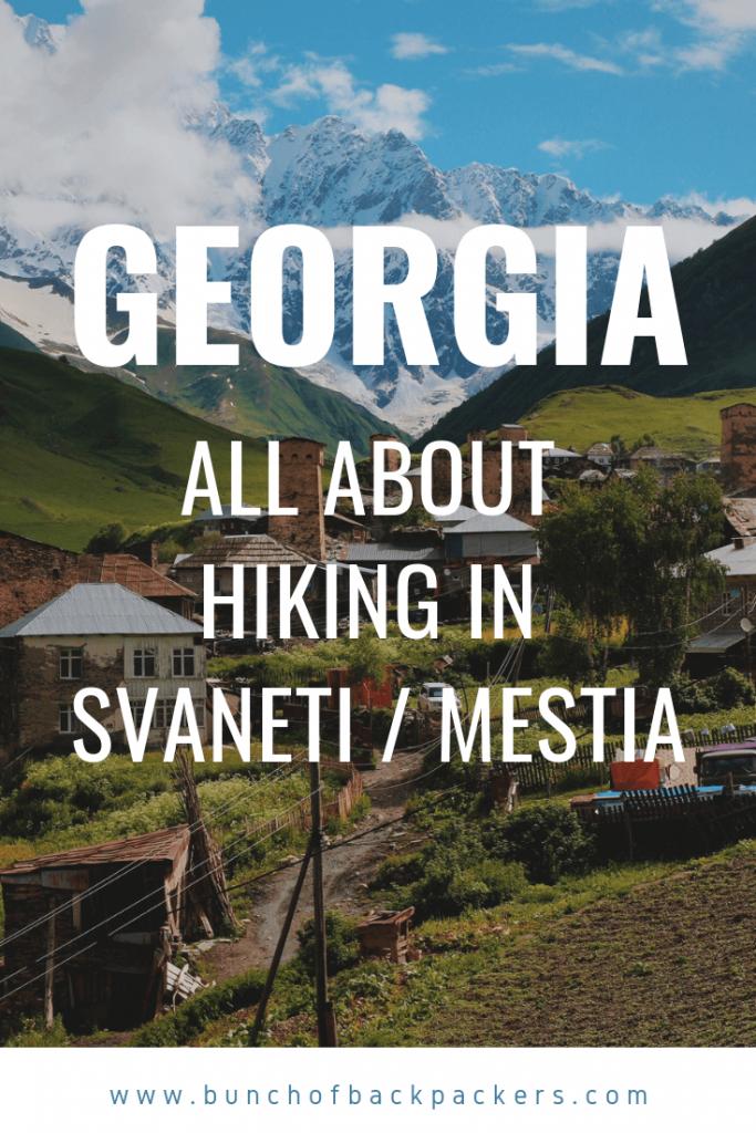 Mestia Svaneti Georgia