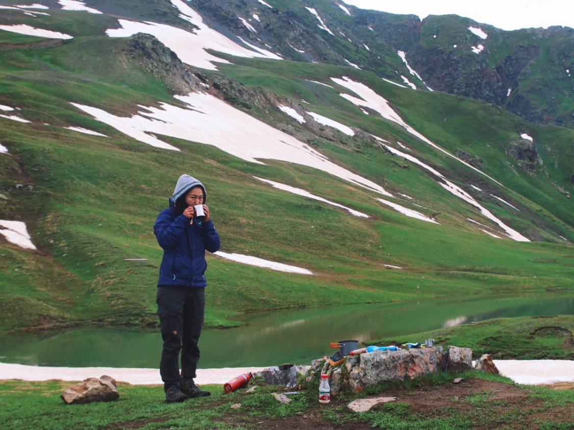 Fjallraven Karla curved pants mountaineering