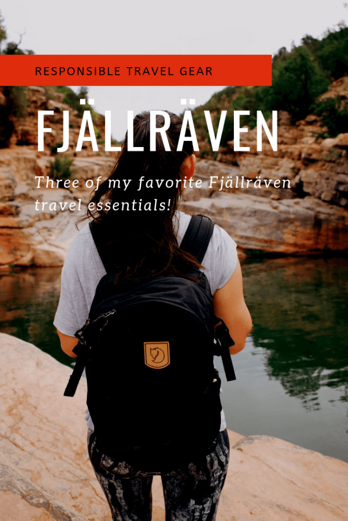 Fjallraven responsible travel