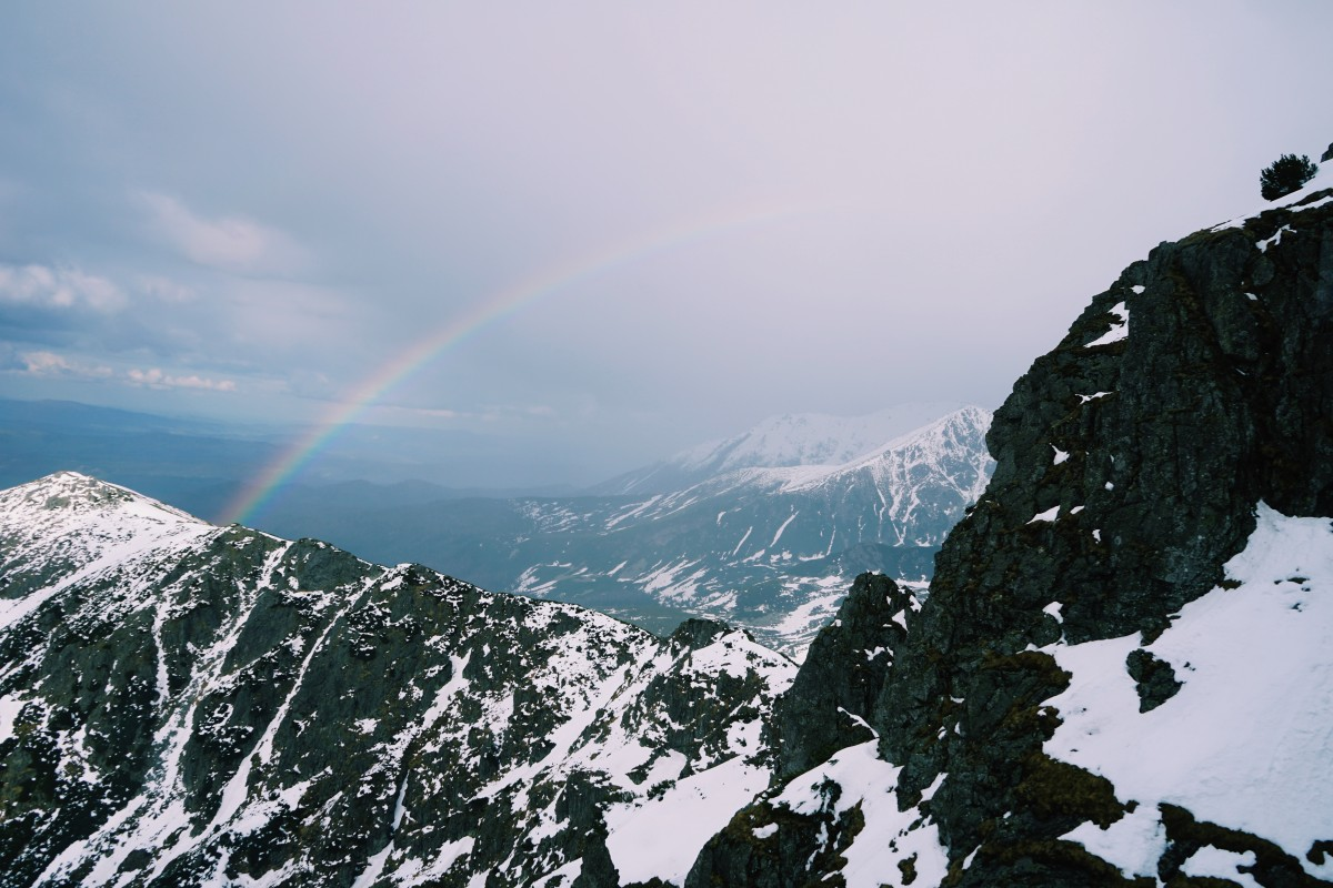Rainbows and mountain happiness!