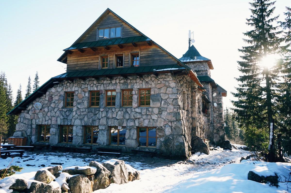 Murowaniec mountain hut Tatra