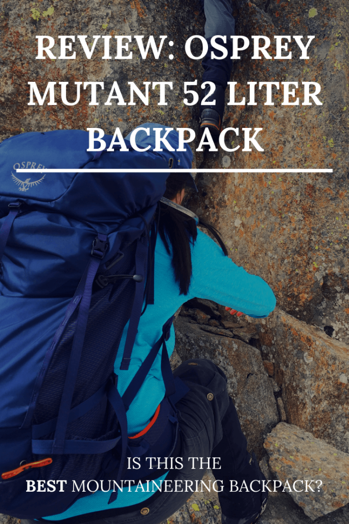 Best mountaineering backpack alpinism