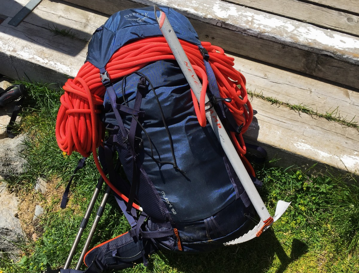 Osprey Mutant 52 liters alpinism backpack